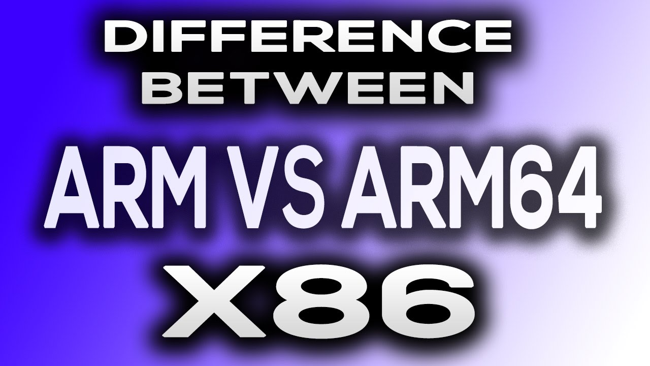 How to See What Kind of Processor You Have (ARM, ARM64, or x86)