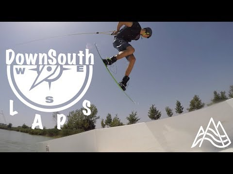 DownSouth Laps. Wakeboarding at Starwake Cable / Wakeparadis