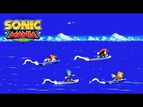 Sonic Mania Plus Mod: Angel Island Surfing Intro