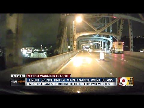 Brent Spence Bridge maintenance work begins