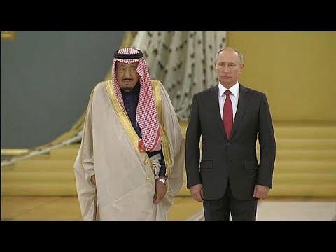 Saudi king makes