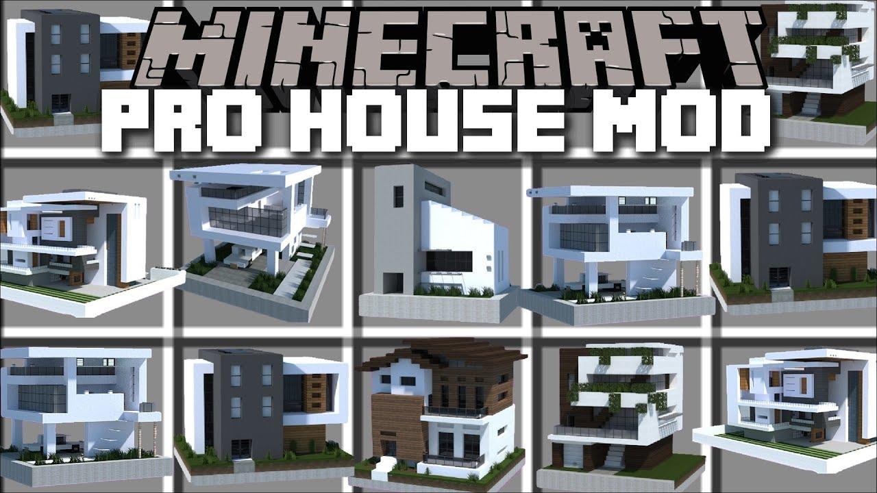 Minecraft Instant Pro House Mod Spawn Huge Buildings Instant Pro House Minecraft