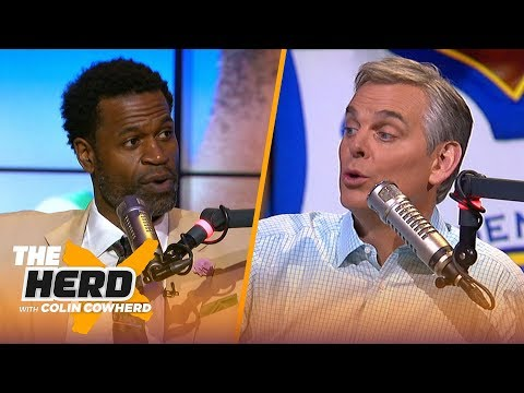 Stephen Jackson talks LeBron and Kyrie's seasons, NBA's top-10 scorers of all time | NBA | THE HERD