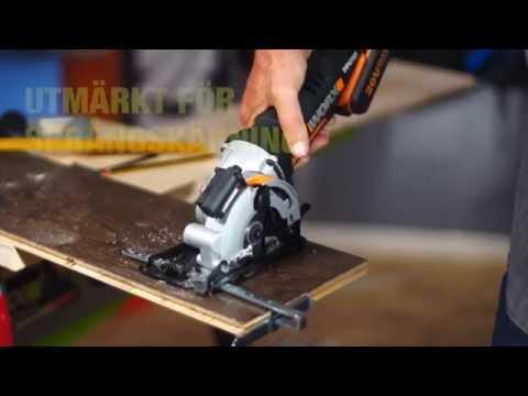 售完WORX 威克士WX523鋰電小鷹鋸 帶激光切割器,手提圓鋸機,迷你圓鋸機