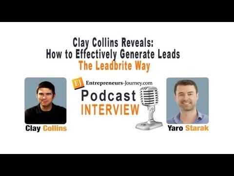 Clay Collins Reveals: How to Generate Leads Effectively, The LeadBrite Way