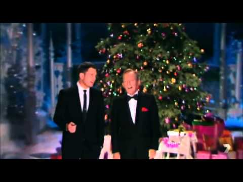 Michael Bublé singing with Bing Crosby - White Christmas