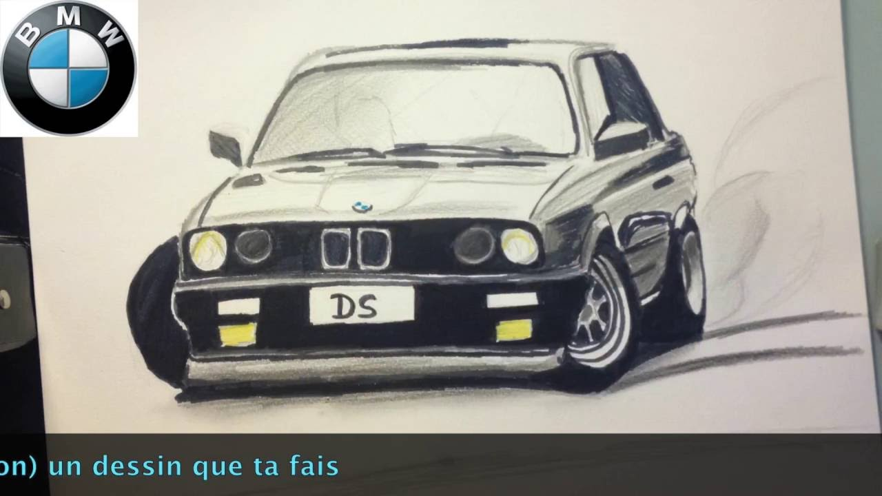 dessin bmw m3 e30 drift youtube. Black Bedroom Furniture Sets. Home Design Ideas