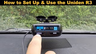 How to Program and Use your Uniden R3 Radar Detector