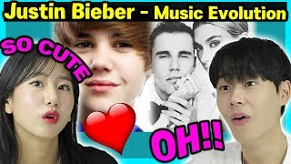 Download lagu Justin Bieber   Music Evolution2009 2019 and Marriage Reaction by Korean