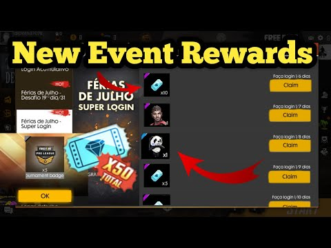 Free Fire New Event Rewards | Free Fire New Event Full Details | Upcoming Events In Free Fire