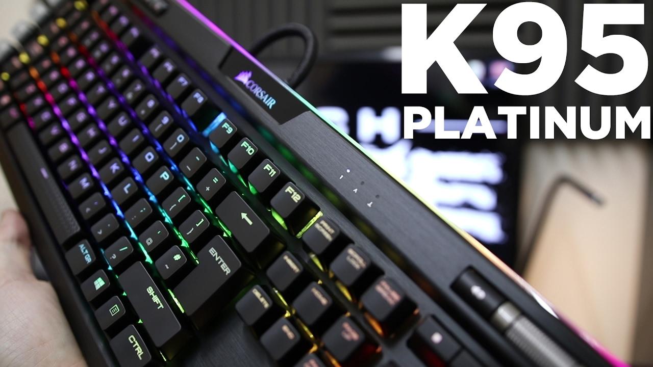 Corsair K95 Platinum - Review - Unboxing & Guide