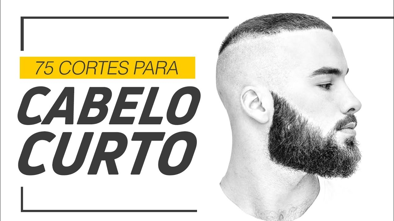 75 Cortes De Cabelo Masculino Curto Para 2019