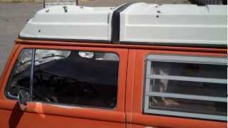 1974 VW BUS FOR SALE fridge, seats, body, roof, rust areas