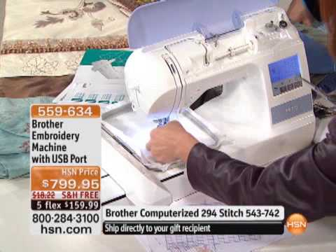 Brother embroidery machine with usb port youtube