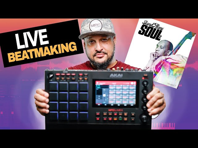 🔴Akai MPC Live 2 Beatmaking with StandAlone Soul 2 | MPC Expansion /Royalty Free Loop Kit