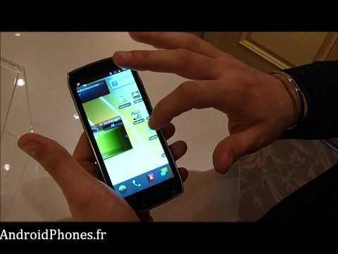 Acer Iconia Smart - Présentation de l'interface