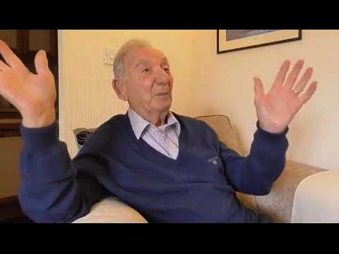 WWII veteran Bernie Harris describes his experiences as a Rear Gunner in RAF Bomber Command
