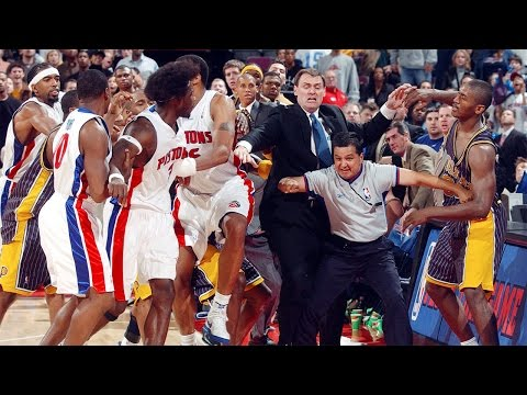 Malice at the Palace: Pistons / Pacers Brawl - Inside Edition (2004)