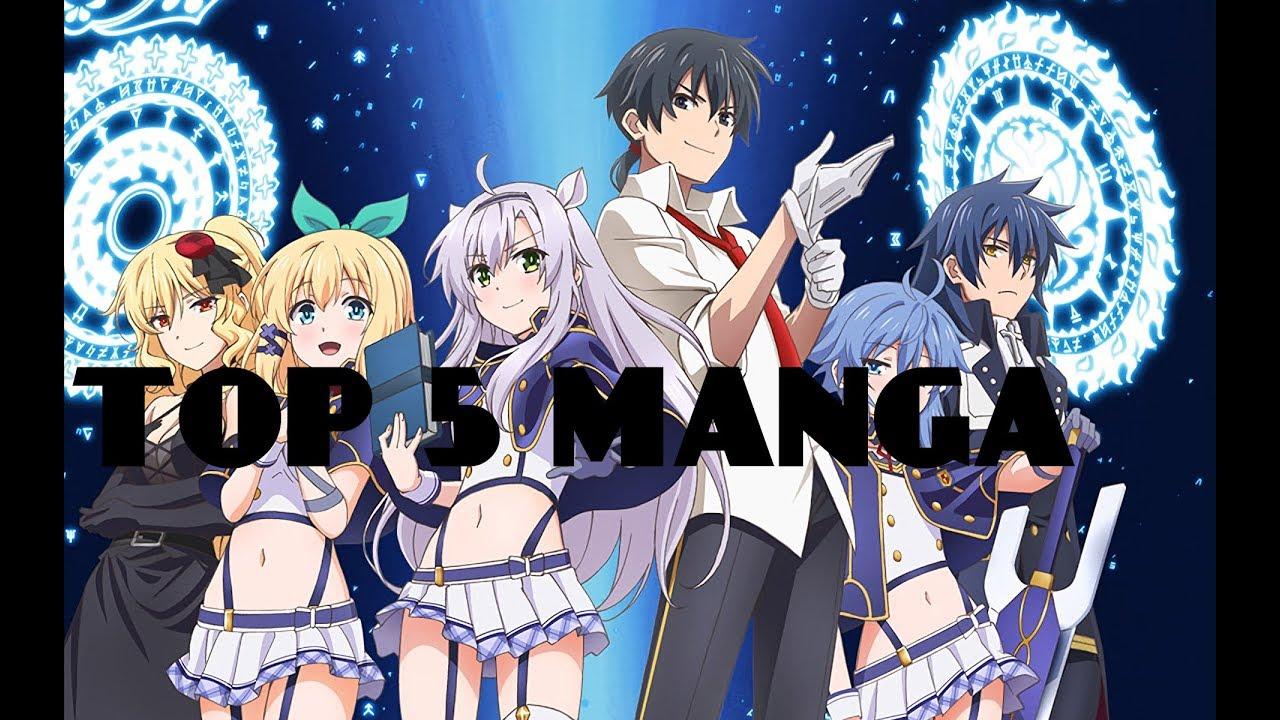Top 5 manga animes vf vostfr