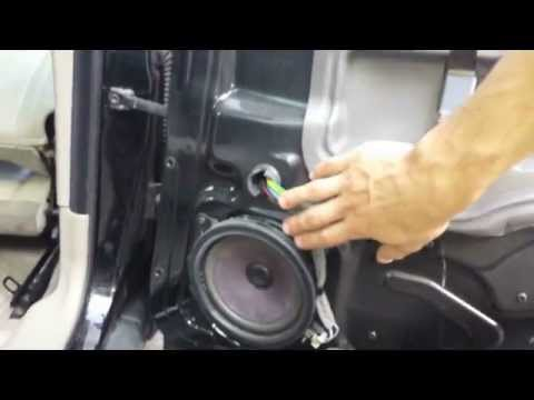 Removing rear door panel on 2003 Volvo S60  YouTube