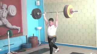 Торопов Влад, 16 лет Толчок 135