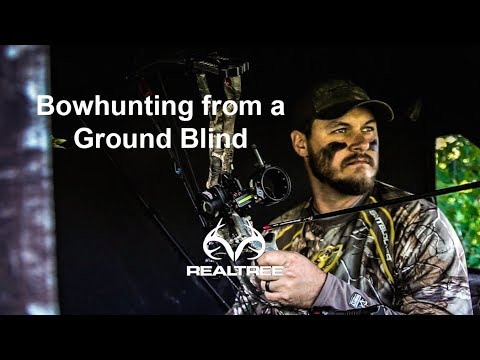How To Shoot A Bow From A Ground Blind