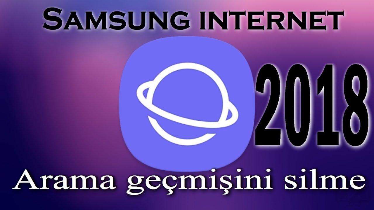 Kişisel Gizlilik koruyun Samsung S8 Geçmişi Temizle için