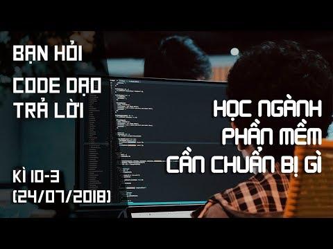 Học ngành phần mềm cần chuẩn bị gì? Học web có làm được IoT
