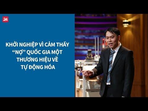 Shark Tank VN tập 14: Startup làm robot nhận 500.000 USD trái phiếu chuyển đổi từ Shark Phú| VTV24