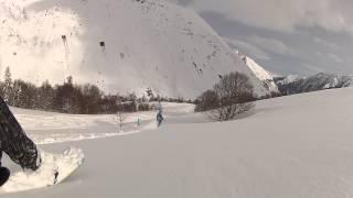 Snowboard Freeride dans les Pyrénées Thumbnail