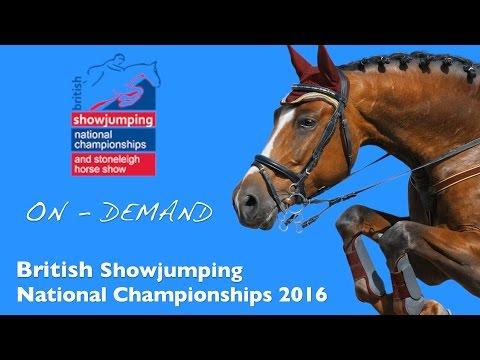 British Showjumping Business Partnership International Stairway Final 2016