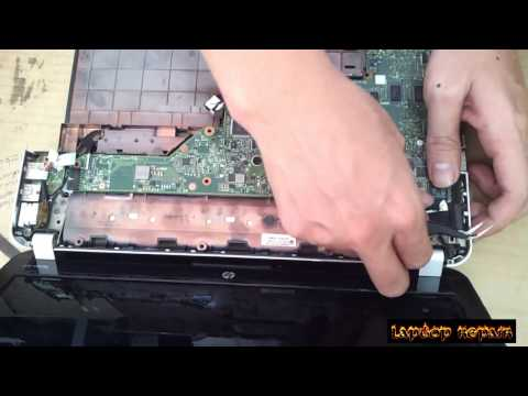 HP pavilion dv3 Disassembly and fan cleaning  Laptop repair