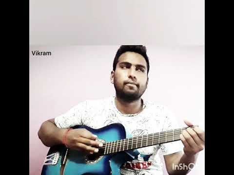 An easy guitar solo major chords by songra vikram on guitar