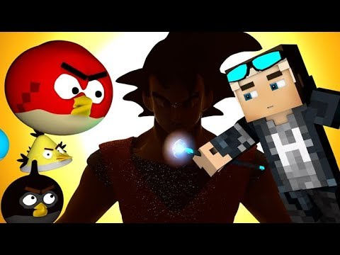 ⚡️ANGRY MINECRAFT Part 16 - [Angry Birds 3D Minecraft Animation Movie]
