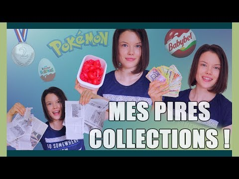 MES PIRES COLLECTIONS !! - Claire