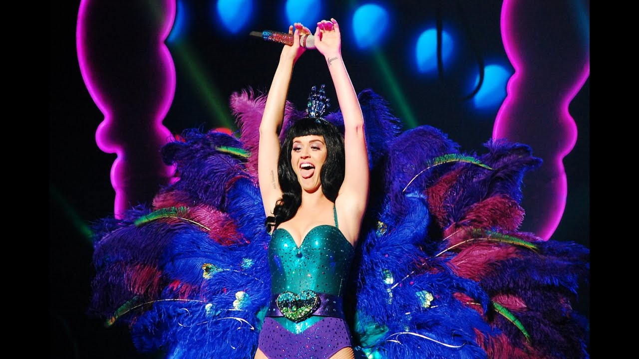 how to make katy perry peacock costume
