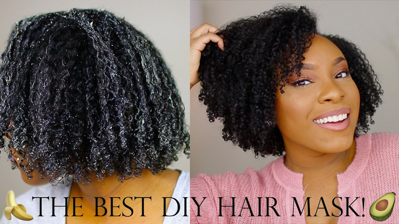 Best Diy Hair Mask For Natural Hair