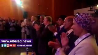 وزير الثقافة ومحافظ السويس يشهدان مسرح الطفل الأول.. فيديو وصور
