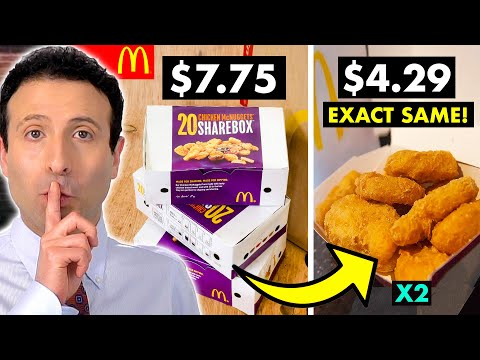 10 FAST FOOD SECRETS That Will Save You Money! #3