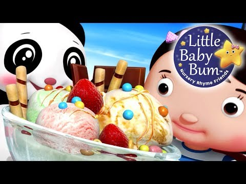 Ice Cream Song | Part 3 | Nursery Rhymes | Original Songs By LittleBabyBum