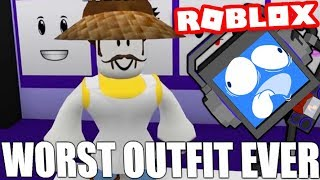 THE WORST OUTFIT EVER..... (Roblox Dress Up)