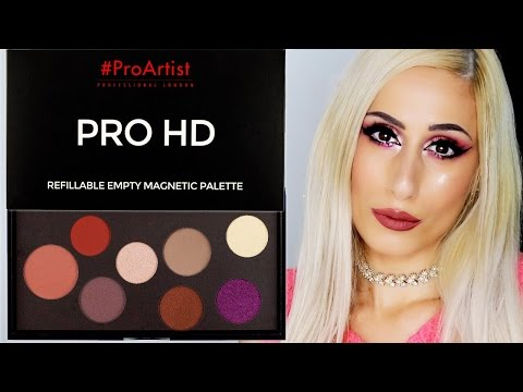 TUTORIAL || w/ Affordable FREEDOM #ProArtist DIY Makeup Palette 💰💰