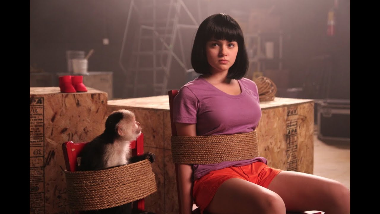 Dora the Explorer Movie Trailer (with Ariel Winter) - YouTube