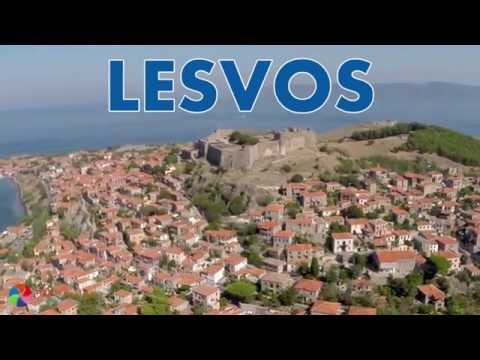 Lesvos/Lesbos-Greece bird's-eye view | Lesvos-Grecja z lotu ptaka | mixtravel.pl
