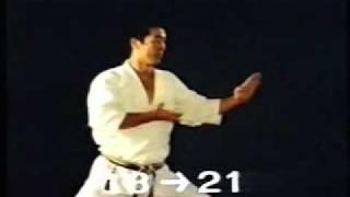Heian Shodan JKA - Osaka Sensei ( With Nakayama)