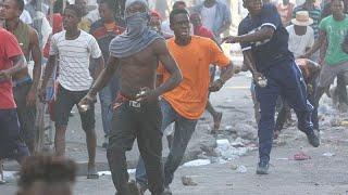 شاهد: مظاهرات وأعمال شغب في هايتي احتجاجاً على الفساد