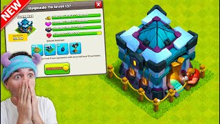 THE WAIT IS OVER.. TOWN HALL 13 IN CLASH OF CLANS IS HERE!