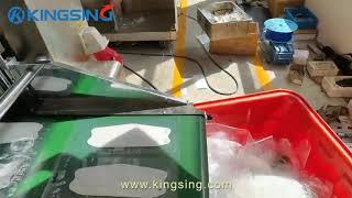 Automatic KF94 Fish-shapped Mask Packing Machine