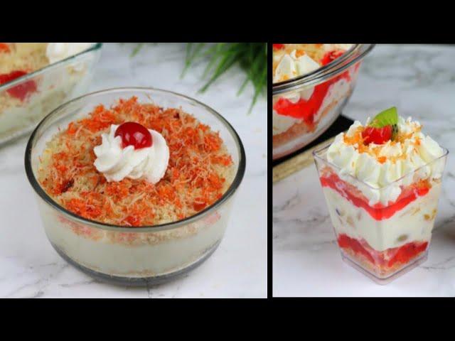 সেমাই দিয়ে তৈরি ২ টি মজার ঈদের ডেজার্ট| Nawabi Semai | Vermicelli Trifle | Nobabi Semai |Eid Dessert