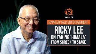 Rappler Talk Entertainment: Ricky Lee on taking 'Himala' from screen to stage